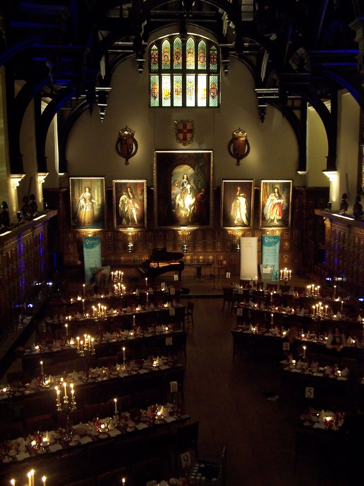 A Midsummer night's dream...lighting ideas in Middle Temple Hall
