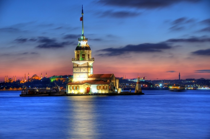 Maiden Tower HDR