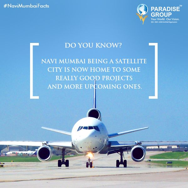 #NaviMumbaiFacts Navi Mumbai being a satellite city is now home to some really good projects and more upcoming ones. (source:http://www.nmmc.gov.in/mr/history) www.paradisegroup.co.in Contact: 022 2783 1000 #paradise #paradisebuilders #realestate #luxury #luxurioushouse #realtor #propertymanagement #bestpropertyrates #homesellers #bestexperience #homebuyers #dreamhome #mumbai