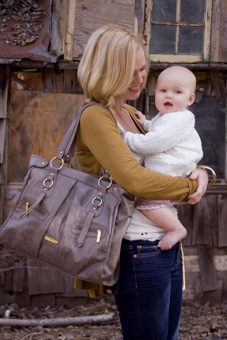 Rachael Bag Leslie And Caramel Diaper Timi
