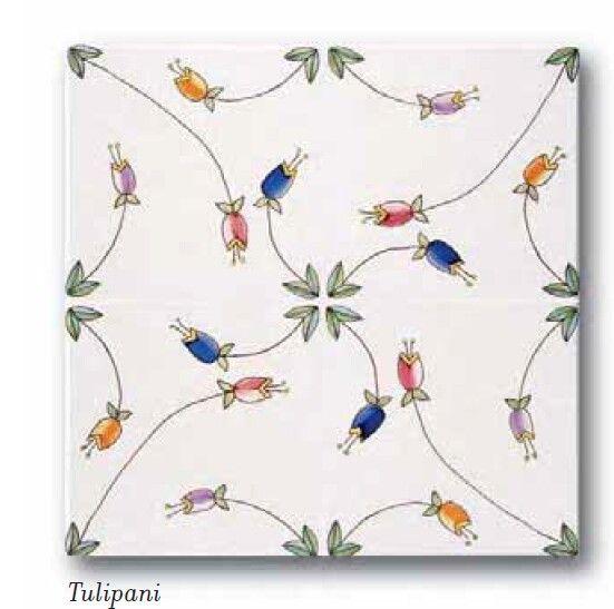 Ceramica Francesco De Maio | Classico Vietri |  #ceramicafrancescodemaio |  tulipani