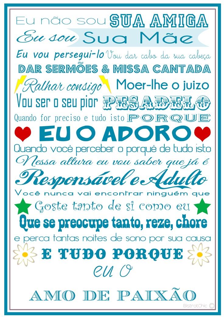 Amor de Mãe Azul / Mother's Love