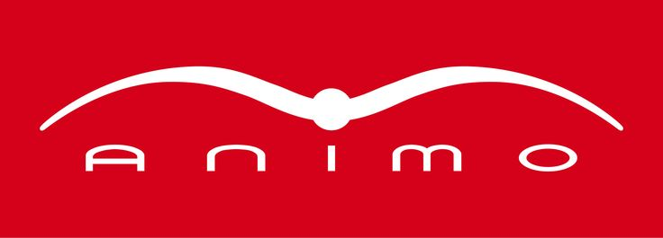 Animo Italia Logo in Red