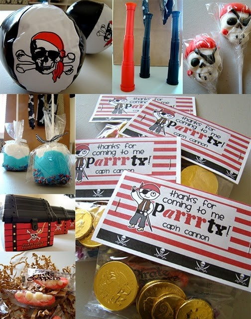 Pirate Themed Party Inspiration Board