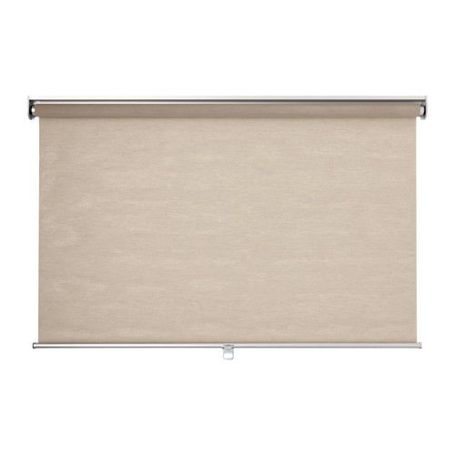 SKOGSKLÖVER Roller blind IKEA The blind is cordless for increased child safety. Filters light and reduces reflections on TV and computer screens.