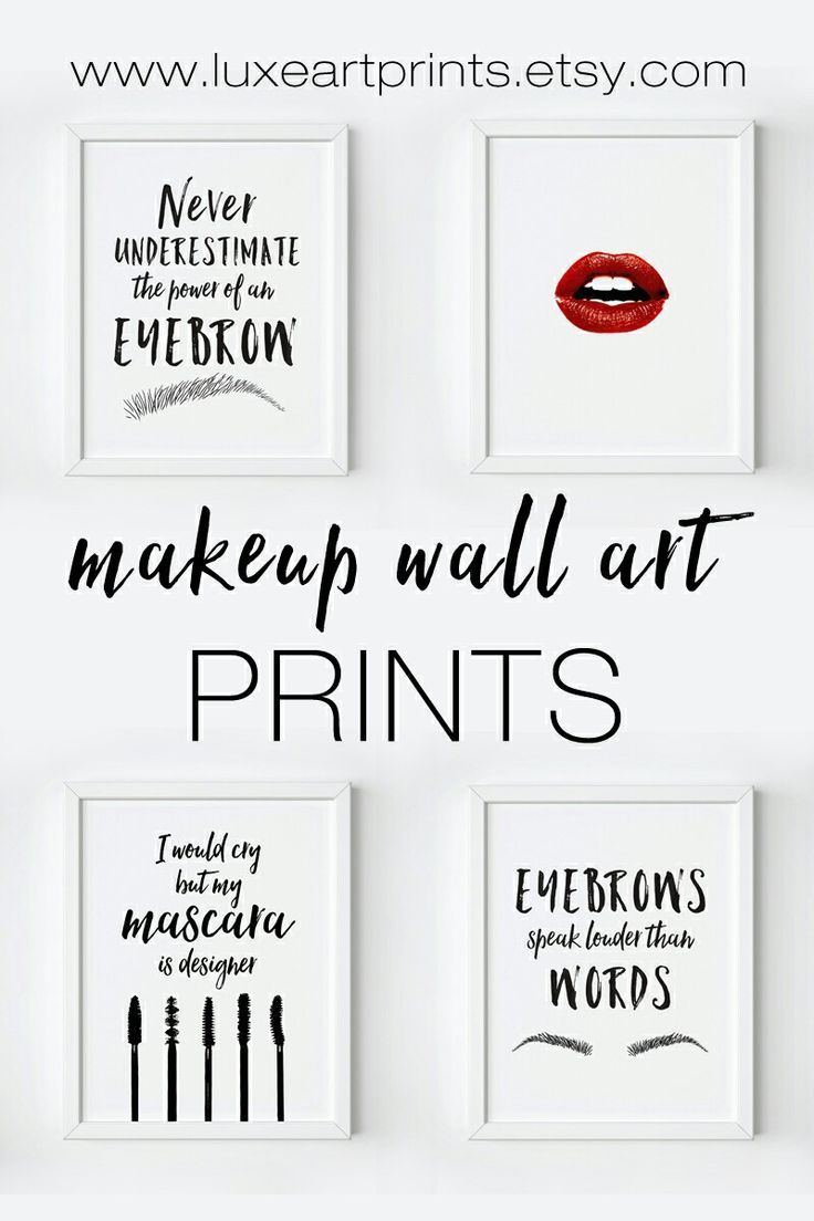 Free Printable Wall Art Pieces 10 To Choose From Makeup Wall