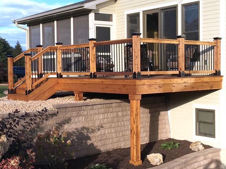 Beautiful Building Balcony Deck