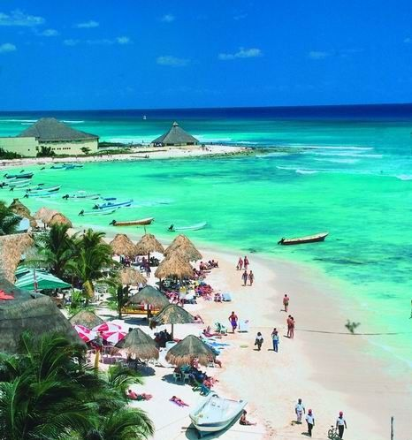 Playa del Carmen, Mexico. I love Playa, I've been there twice and am going again this December...