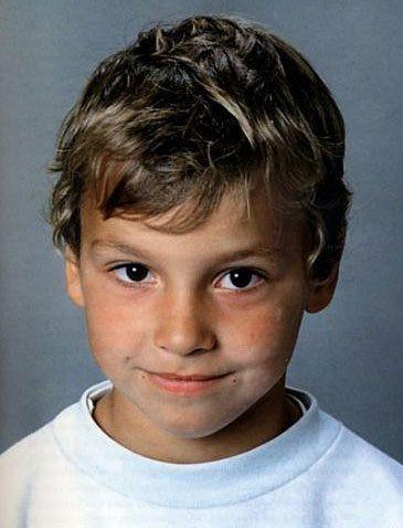 Zlatan Ibrahimovic as a KID