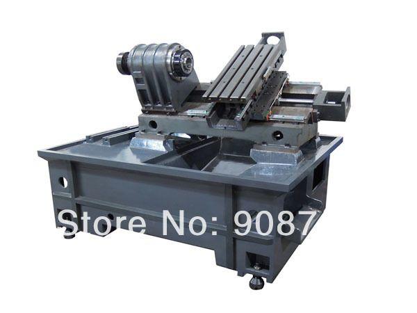 lathe004#   frame for CNC machine, CNC lathe machine,oblique frame,machine bed D36mm