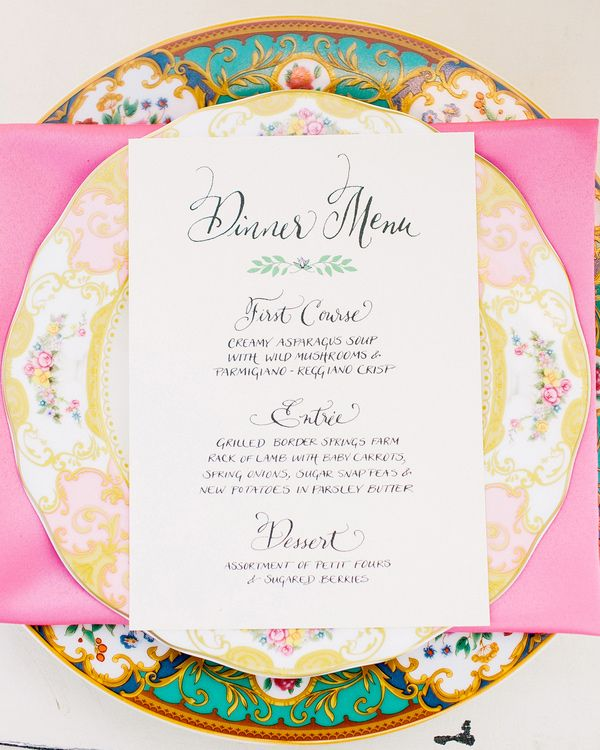 196 Best Wedding Menu Ideas Images On Pinterest