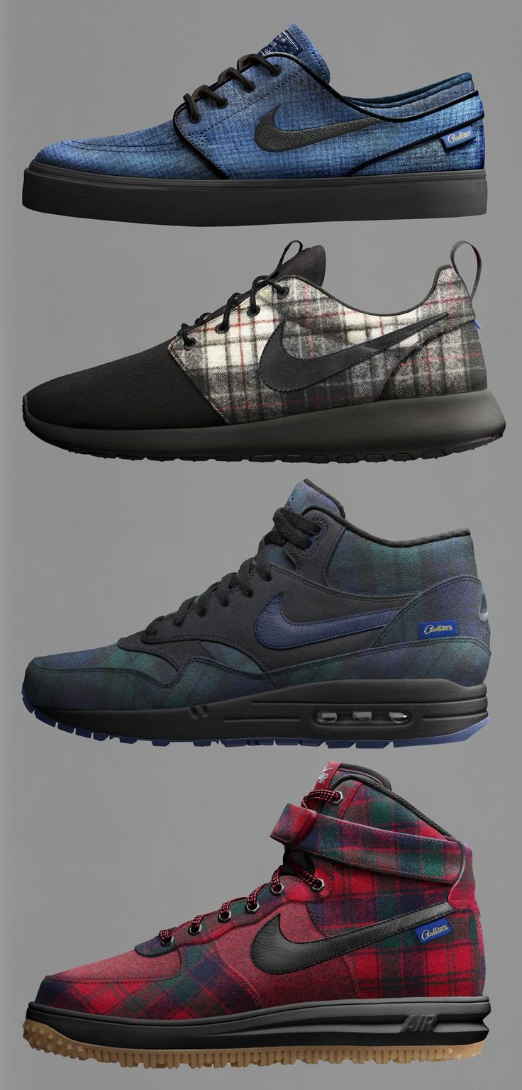 Nike iD x Pendleton 2014: Janoski, Air Max 1, Roshe Run & Lunar Force 1