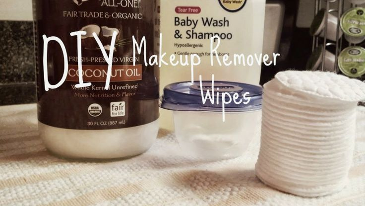 Makeup remover wipes homemade products pinterest for Home made product for sale