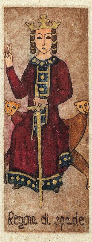 La Corte dei Tarocchi - Queen of Swords