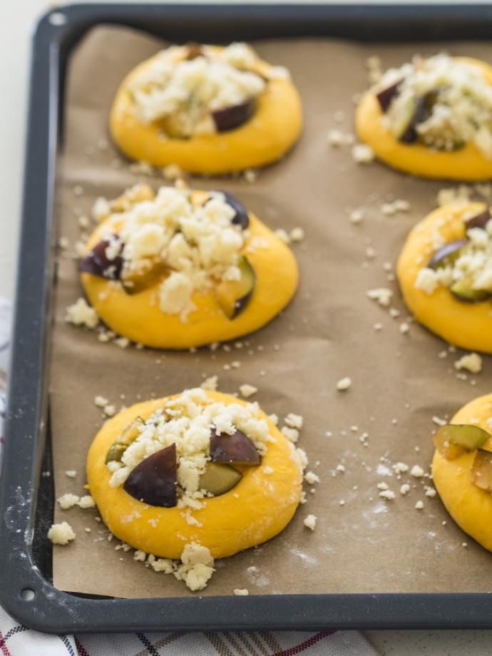 Marchewkowe drożdżówki ze śliwkami | Dr. Oetker: Blog Kulinarny Pani Tereska