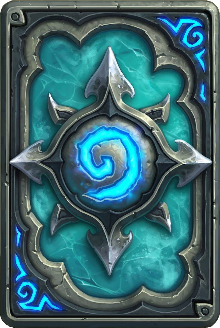 Card Back: Icecrown Artist: Blizzard Entertainment