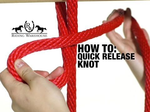 How To Tie A Quick Release Knot - Local Horse Magazine - YouTube