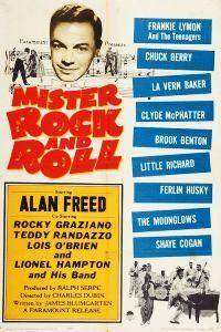 Mister Rock and Roll. Alan Freed, Rocky Graziano, Lionel Hampton, Ferlin Husky, Frankie Lymon, Little Richard, Clyde McPhatter, LaVern Baker, Screamin' Jay Hawkins. 1957