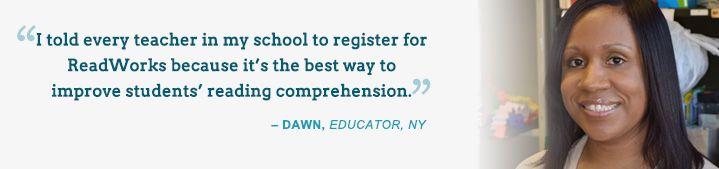 Encuentra es este sitio diversas lecturas, graduadas por niveles de complejidad; las cuales incluyen ejercicios de comprensión.