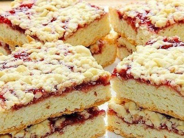 Быстрый тёртый пирог — vkusno.co