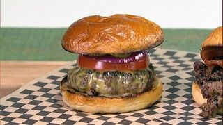 Pub Burger Recipe | The Chew - ABC.com - http://abc.go.com/shows/the-chew/recipes/pub-burger-michael-symon