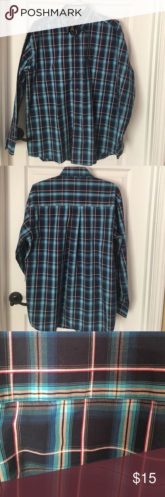 Wrangler shirt George Strait cowboy cut shirt. Excellent condition. Wrangler Shirts