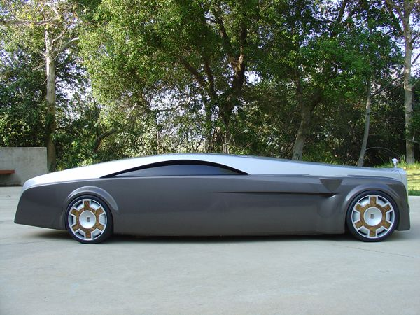 """""""Apparition"""" - Rolls-Royce concept car. I'm just wondering...How do you get that thing through McDonald's drive-thru???"""