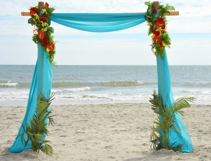 Myrtle Beach Wedding Packages All Inclusive Weddings By Occasions 269 Bamboo Arch Ba 0 Jess Pinterest