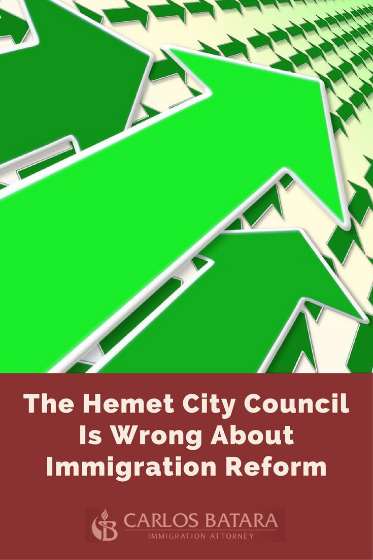 The Hemet City Council Is Wrong About Immigration Reform  The debate over immigration reform, during the past week, exploded in Riverside County.  A decision by the Hemet City Council to endorse a hotly disputed and constitutionally defective Arizona law triggered other Inland Empire and Southwest Riverside cities to join...