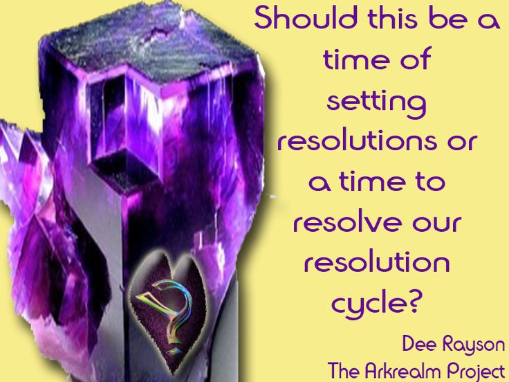 New Year's Resolutions....compounding a continuous cycle.