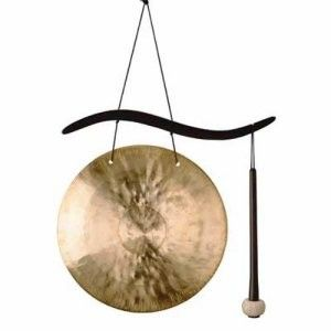 asian wind chimes | Woodstock Hanging Gong Wind Chime | Shop entertainment| Kaboodle