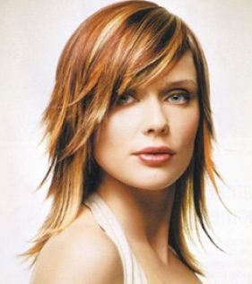 shoulder length layered haircuts - Google Search