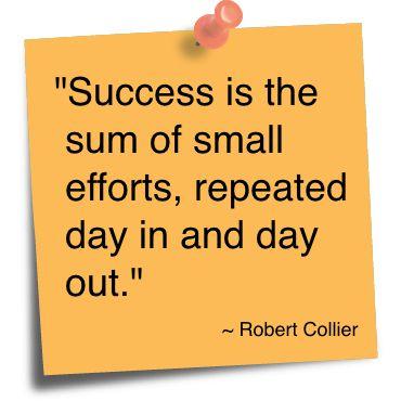 P e essays on success