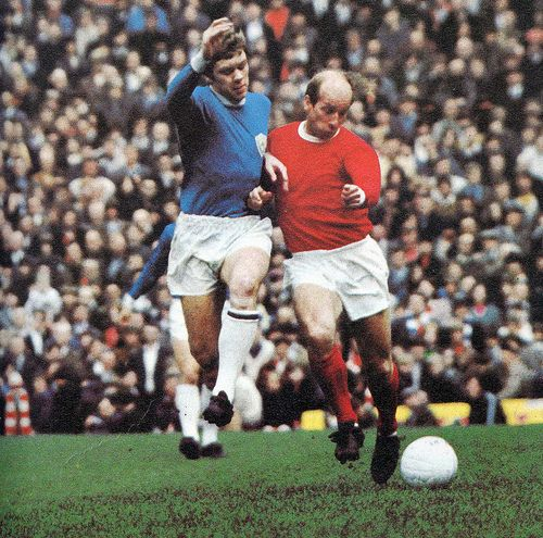 Man Utd v Leicester City 1960's | Flickr - Photo Sharing!