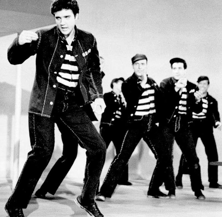 an analysis of the jailhouse rock and the story of elvis aaron presley Elvis aaron presley was born on january 8, 1935 in east tupelo, mississippi, to gladys presley (née gladys love smith) and vernon presley (vernon elvis presley) he had a twin brother who was stillborn in 1948, elvis and his parents moved to memphis, tennessee where he attended humes high school.