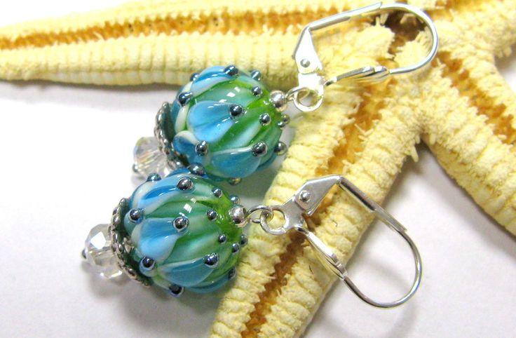 Glasohrringe - SMAUGGS handgearb.Ohrringe  - ein Designerstück von Smauggs bei DaWanda