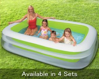17 best ideas about intex swimming pool on pinterest above ground pool landscaping above for Intex inflatable rectangular swimming pool