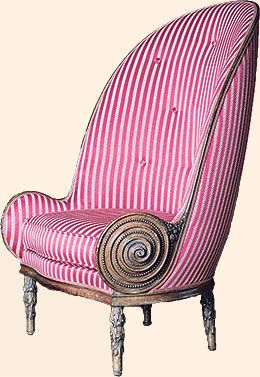 Fauteuil Nautile armchair, 1913, by Paul Iribe. Sold at Sotheby's Paris in 2010 for €492,750