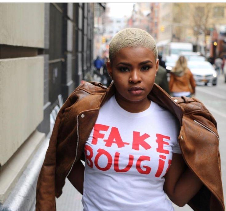Short and Blonde | Fake Bougie t-shirt