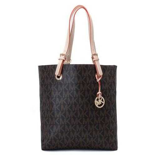 Michael Kors Outlet Jet Set Logo Large Coffee Totes -Michael Kors factory  outlet online sale now up to off!