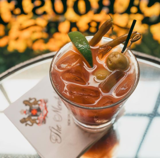 The Carousel Bar's Bloody Mary is a red-hot winning start!