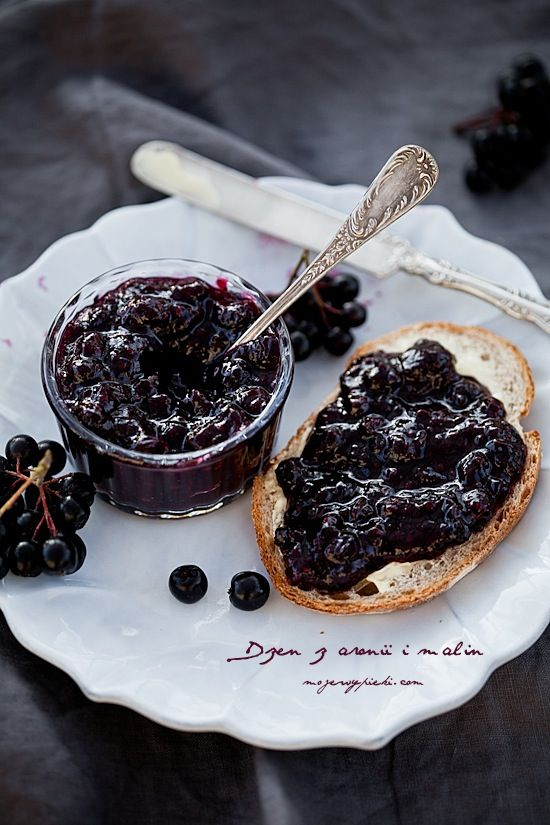 raspberry and chokeberry jam recipe jam syrup. Black Bedroom Furniture Sets. Home Design Ideas