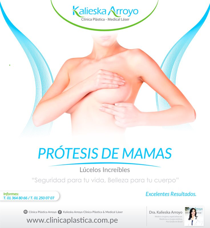 Kalieska Arroyo | Prótesis de mamas, lúcelos increíbles. Separa una cita aquí / Conoce más del tratamiento. Lúcelos increíbles.