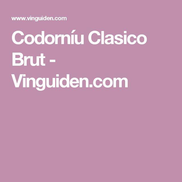 Codorníu Clasico Brut - Vinguiden.com