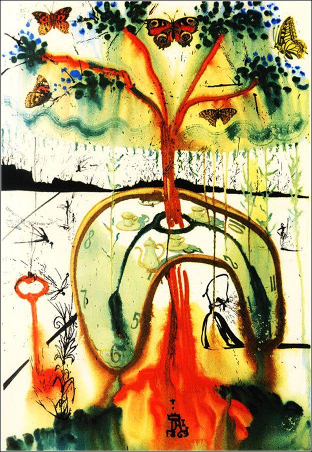 鬼才サルバドール・ダリが描いたほんとに不思議な「不思議の国のアリス」のイラスト13枚 - DNA