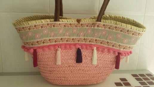 Mi cesta decorada