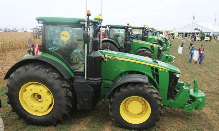 Tracteurs et manutention : Les grands lancements de 2016