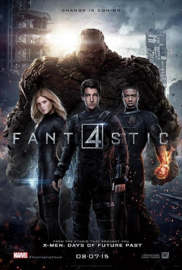 'Fantastic Four' (2015) by Josh Trank. As disappointing as Kanye West's life. (Quote by my girlfriend after seeing this movie.)