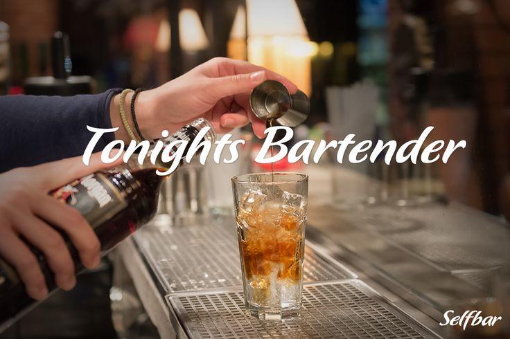 Κάθε Τετάρτη Tonights Bartender! Κερδίστε δώρα και δόξα! #Selfbar #cocktails #drinks #athens