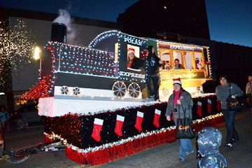 Polar Express Float Ideas Corporate Rented Float
